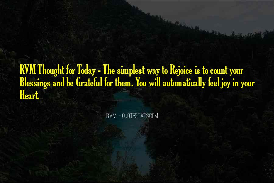Rejoice In Today Quotes #573427