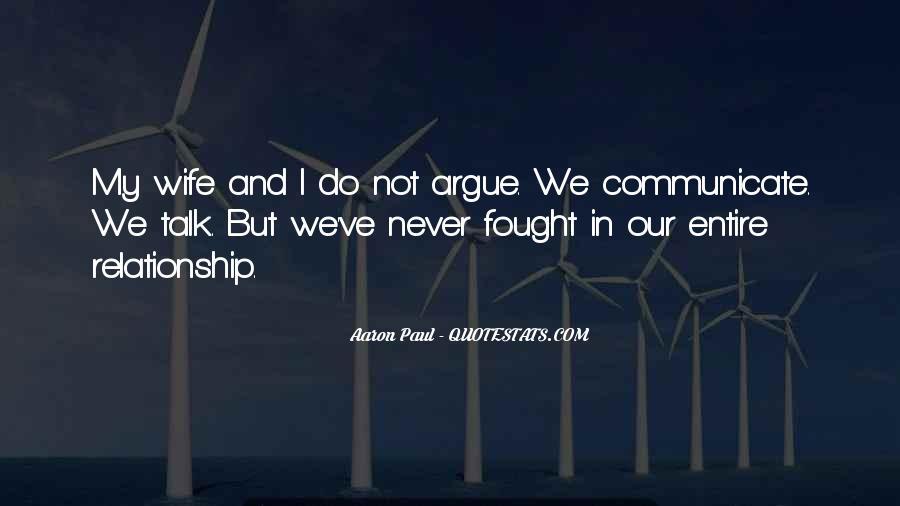 Relationship Argue Quotes #113223