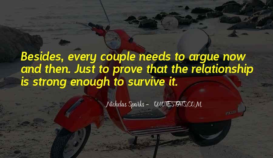 Relationship Argue Quotes #804584
