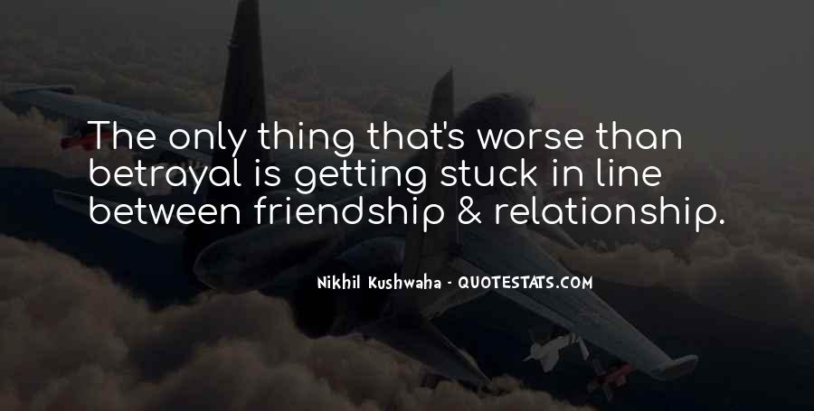 Relationship Between Friendship And Love Quotes #1211165