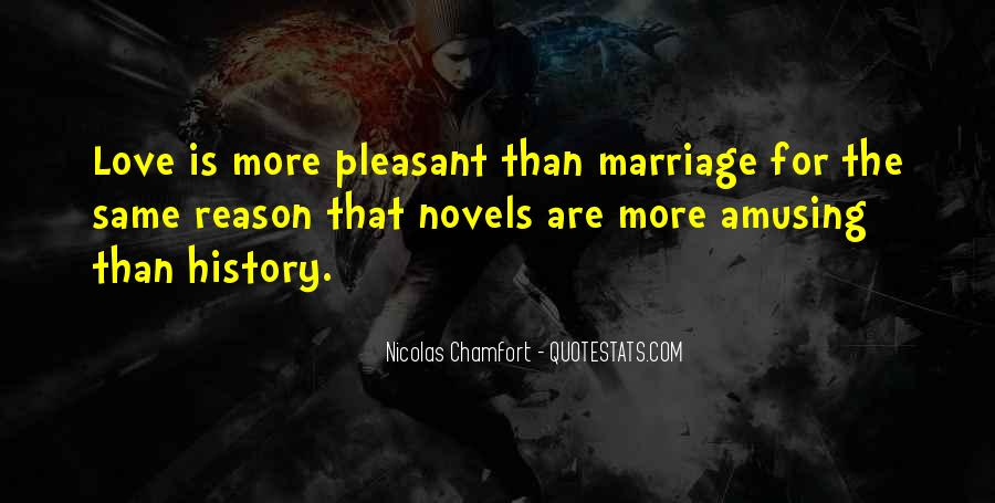 Quotes About Amusing Marriage #1565395