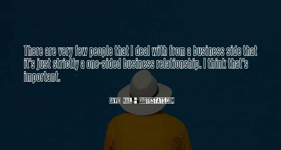 Relationship One Sided Quotes #497924