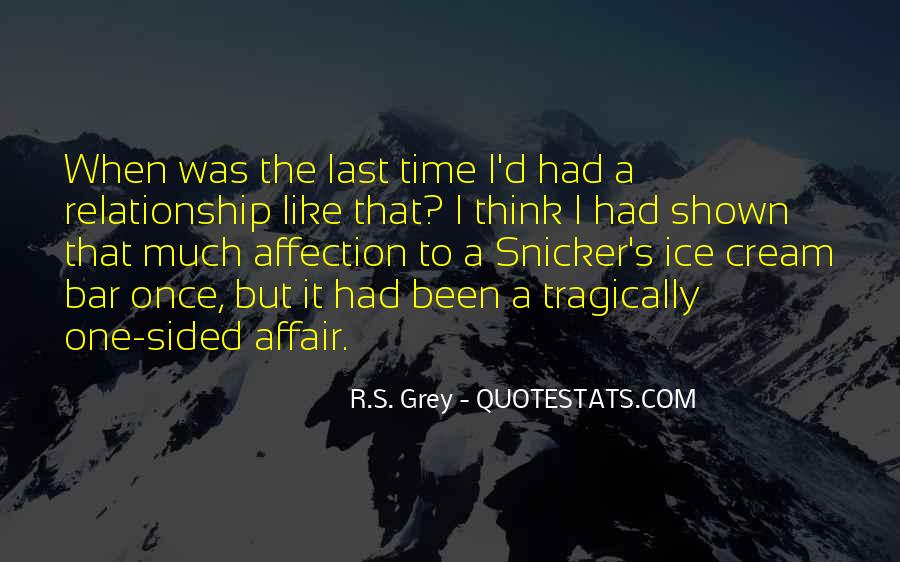 Relationship One Sided Quotes #880093