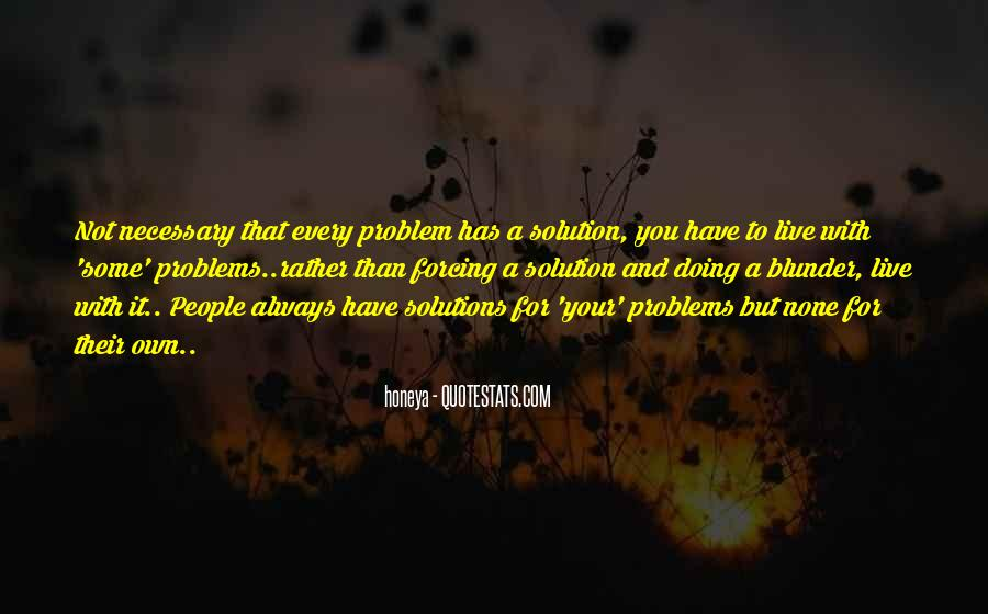 Relationship Problems Advice Quotes #1135027