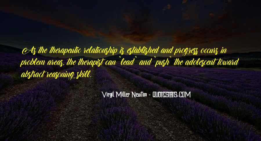 Relationship Therapist Quotes #1823996