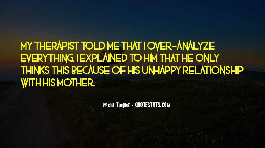 Relationship Therapist Quotes #96344