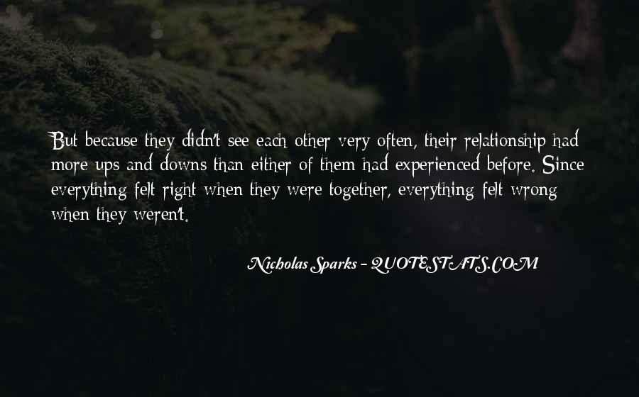 Relationship Went Wrong Quotes #23016