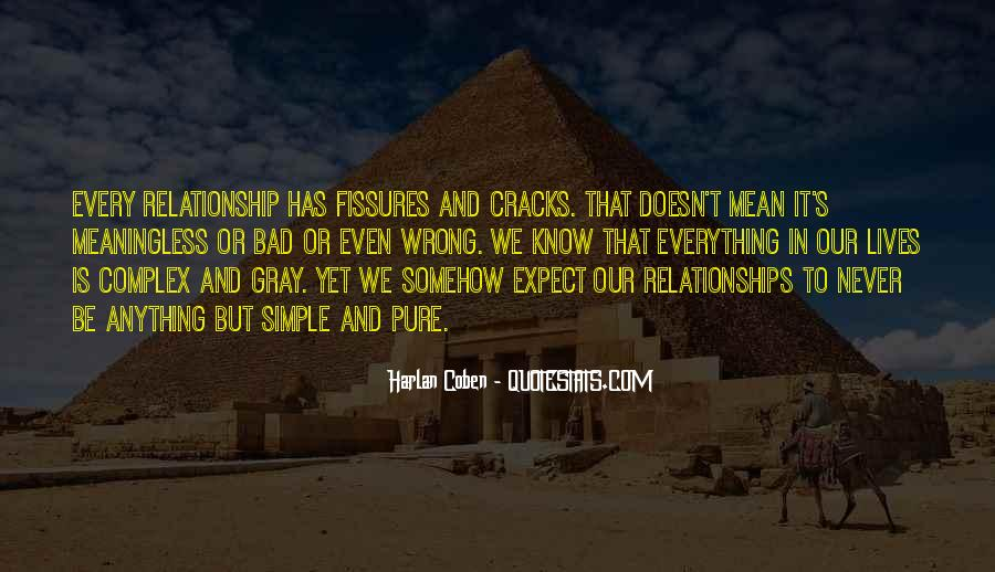 Relationship Went Wrong Quotes #516863