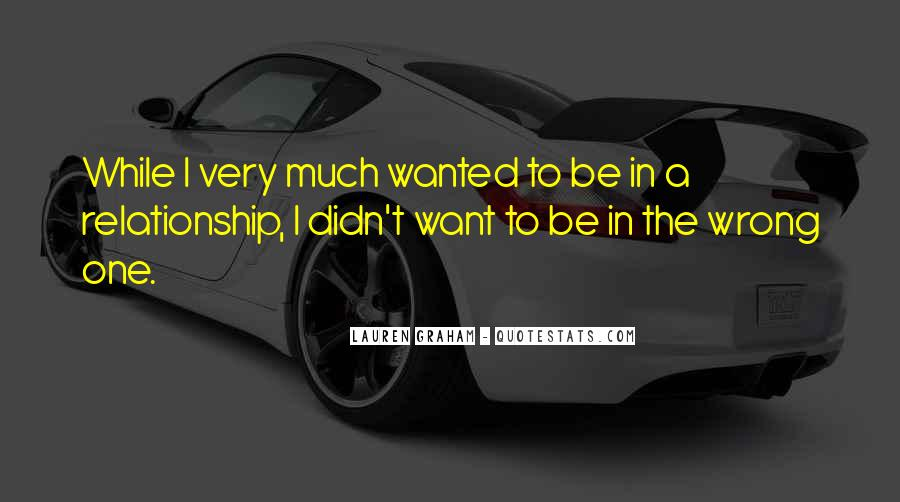 Relationship Went Wrong Quotes #596899