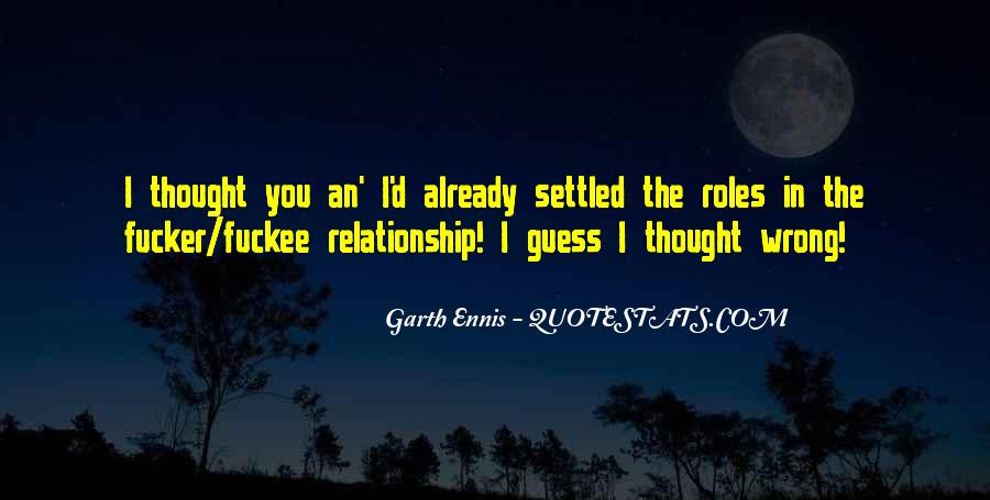 Relationship Went Wrong Quotes #769655
