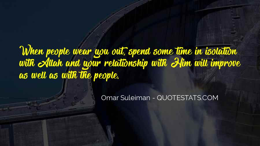 Relationship With Allah Quotes #1733714