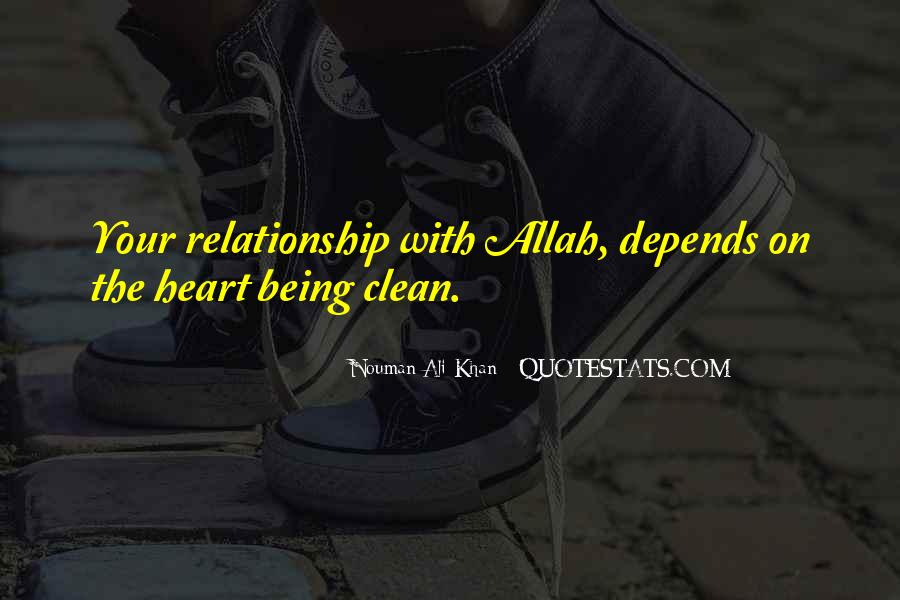 Relationship With Allah Quotes #1846634