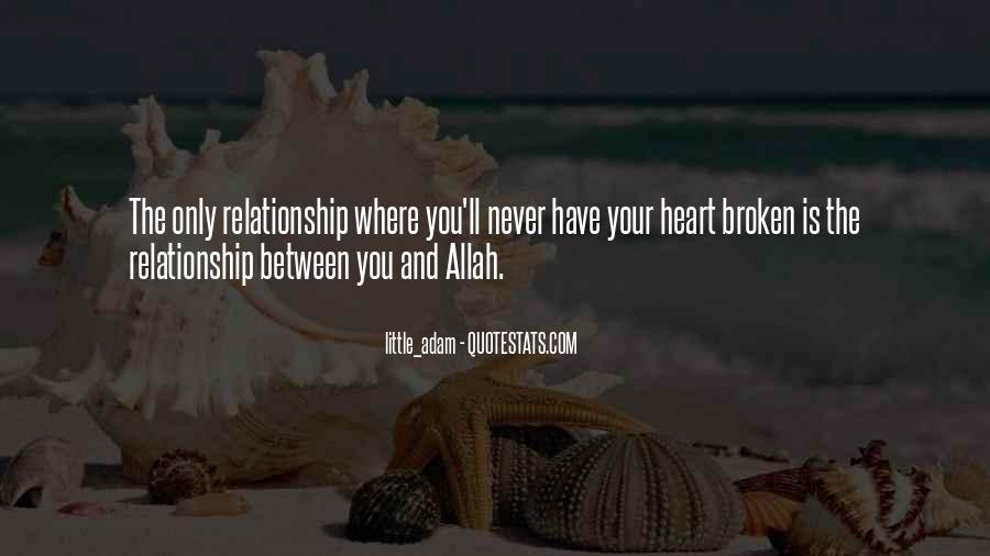 Relationship With Allah Quotes #585