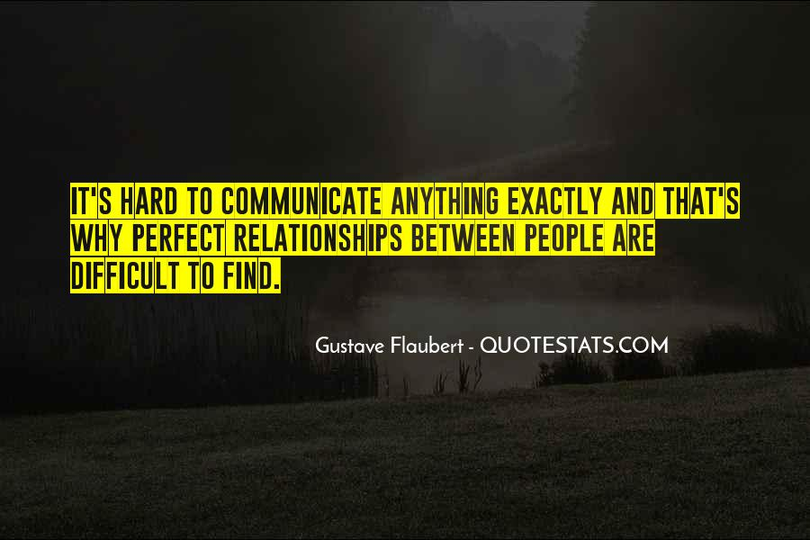 Relationships Get Hard Quotes #137059