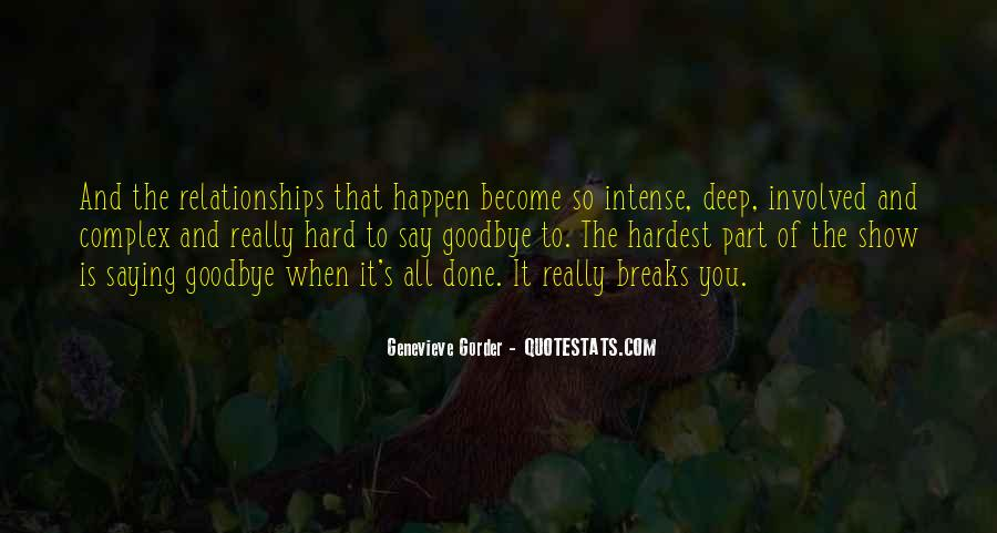Relationships Get Hard Quotes #213363