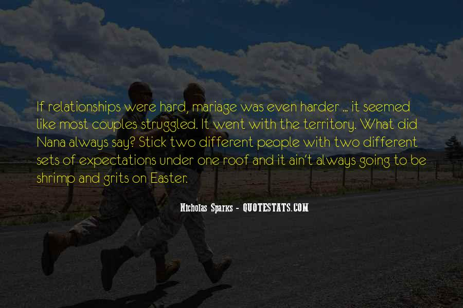 Relationships Get Hard Quotes #380953