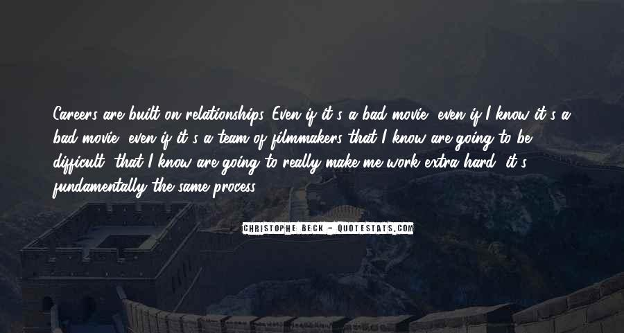 Relationships Get Hard Quotes #94554