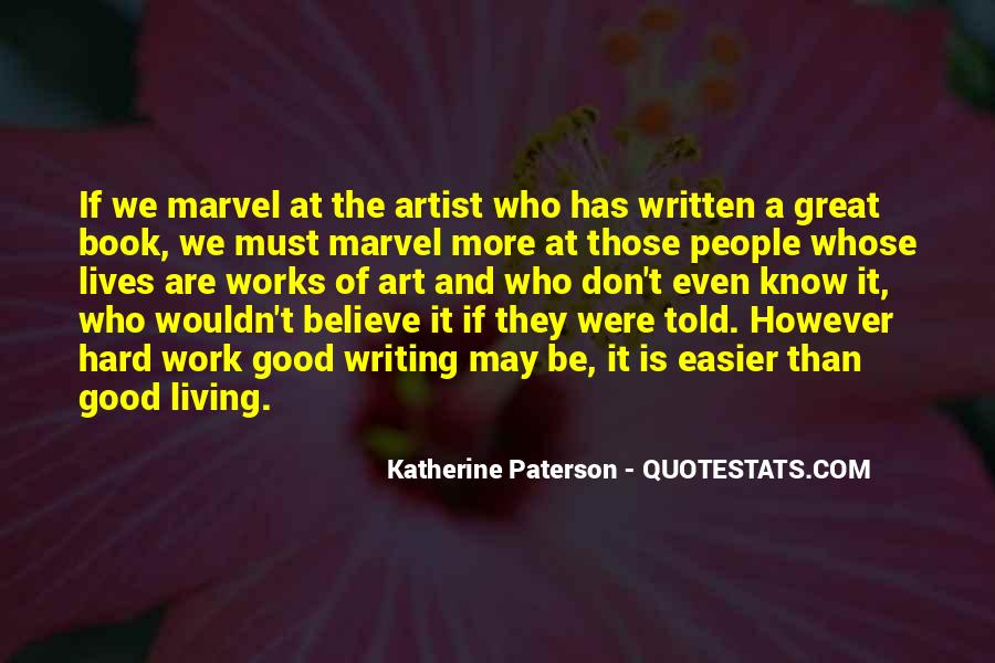 Quotes About Art And Hard Work #1366007