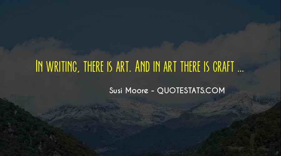 Quotes About Art And Hard Work #1392431