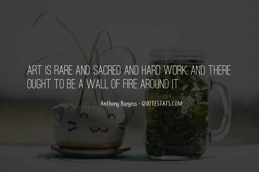 Quotes About Art And Hard Work #157716