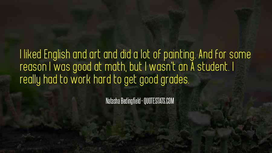 Quotes About Art And Hard Work #1787907