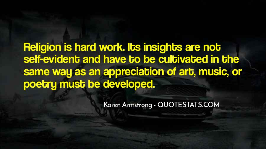 Quotes About Art And Hard Work #545879