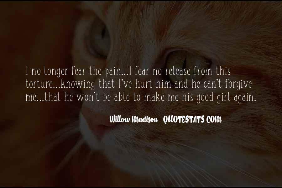Release Your Pain Quotes #1276308