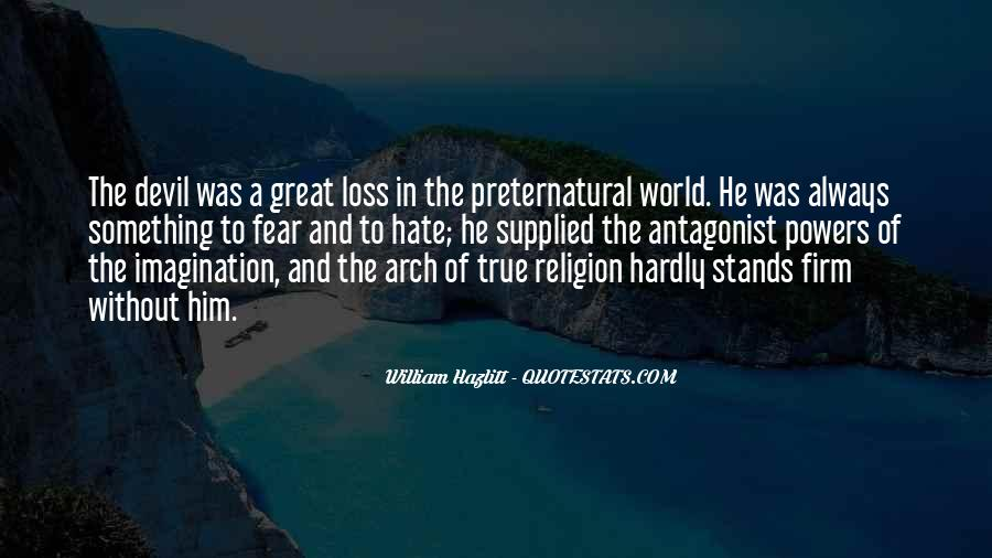 Religion And Hate Quotes #1089483