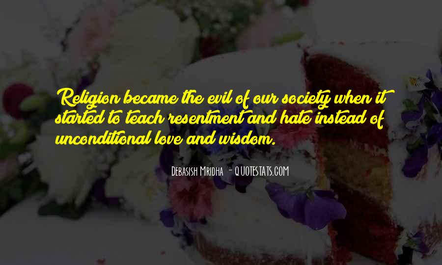 Religion And Hate Quotes #1234916