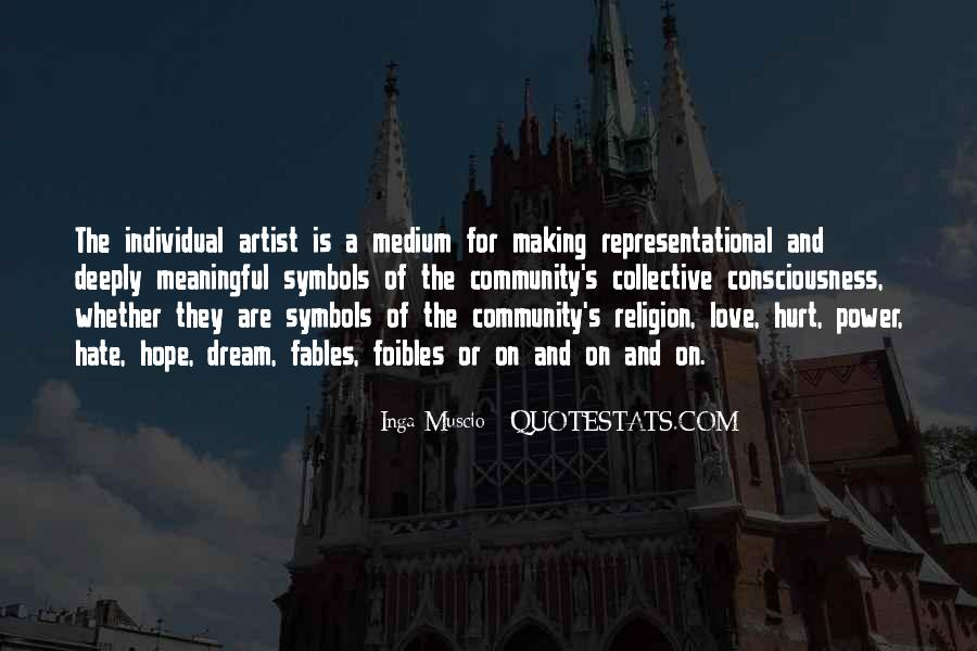 Religion And Hate Quotes #1282599