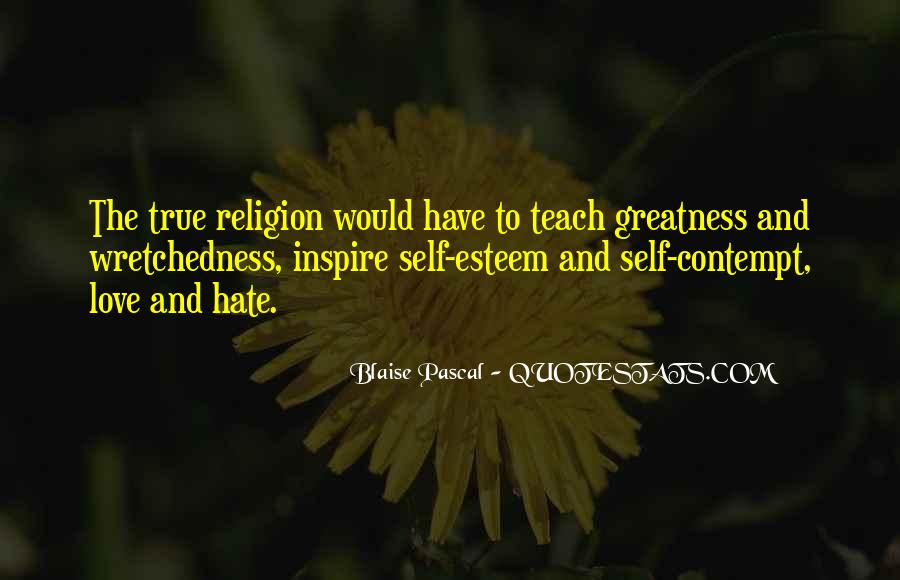 Religion And Hate Quotes #1629984