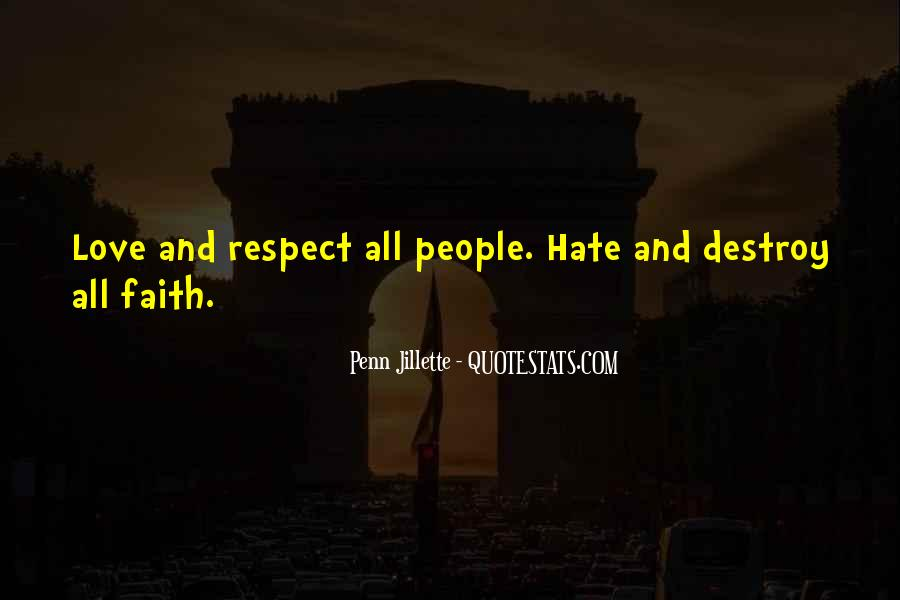 Religion And Hate Quotes #1736216