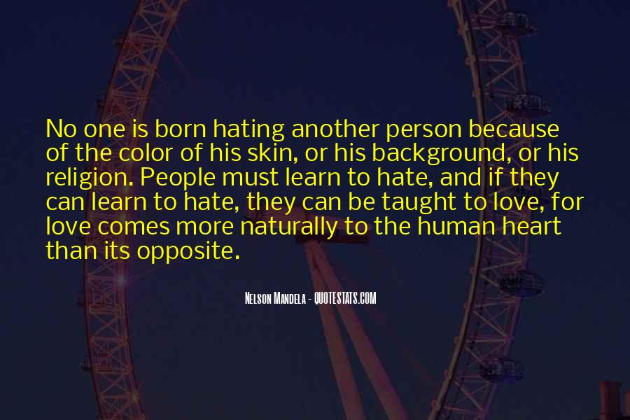 Religion And Hate Quotes #1842040