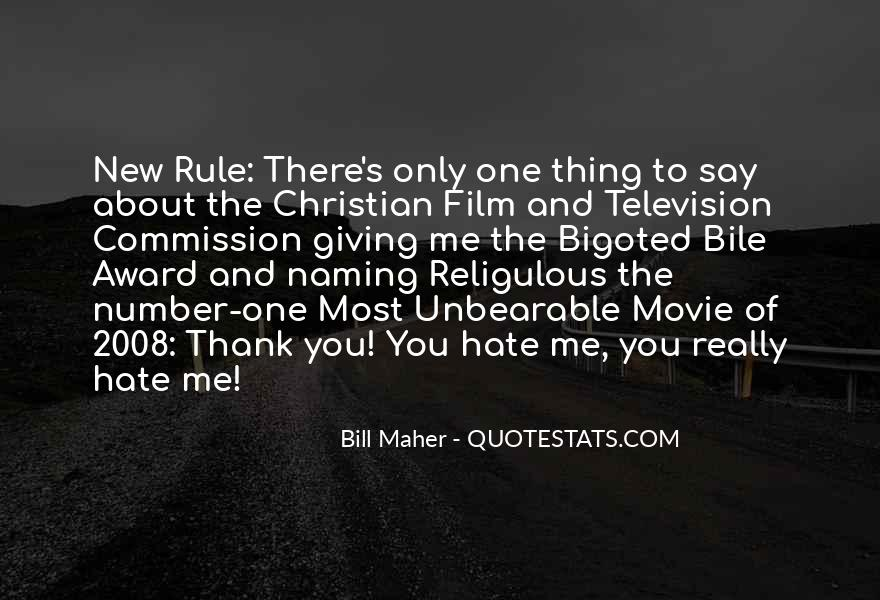 Religion And Hate Quotes #258219