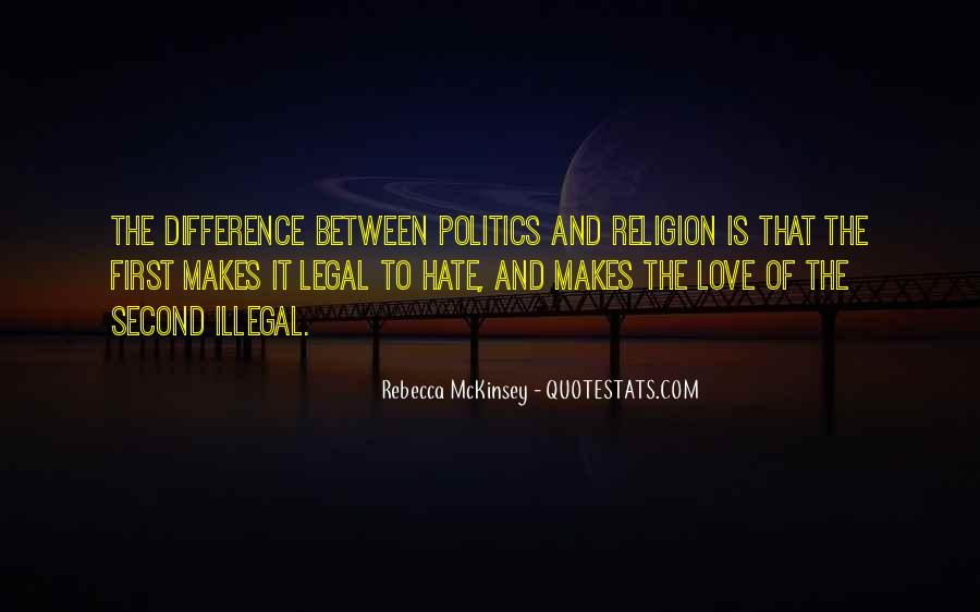 Religion And Hate Quotes #282144
