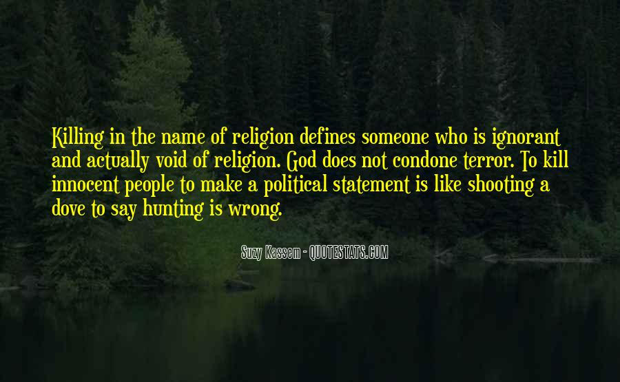 Religion And Hate Quotes #395664