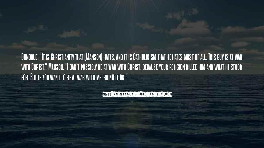 Religion And Hate Quotes #460251