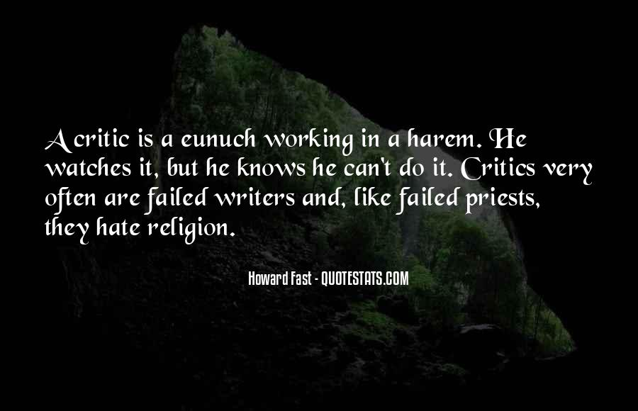 Religion And Hate Quotes #513389