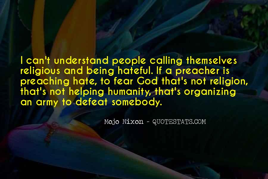 Religion And Hate Quotes #660570