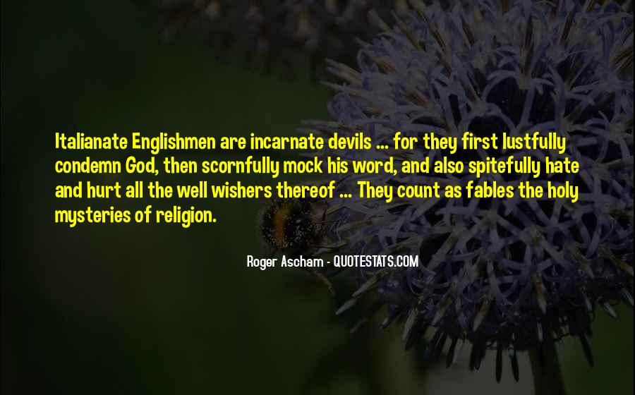 Religion And Hate Quotes #79934