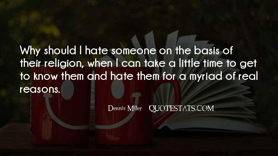 Religion And Hate Quotes #937917