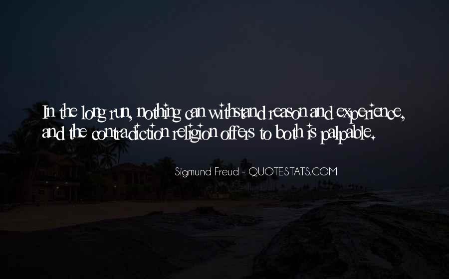 Religion Contradiction Quotes #1440594