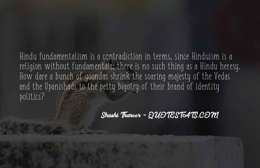 Religion Contradiction Quotes #1516922