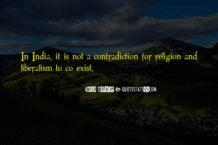 Religion Contradiction Quotes #1815439
