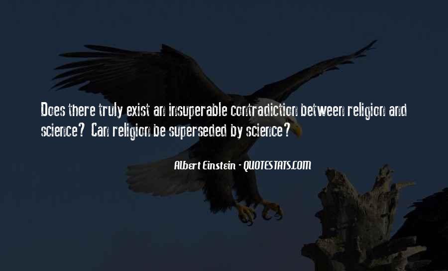 Religion Contradiction Quotes #1823976