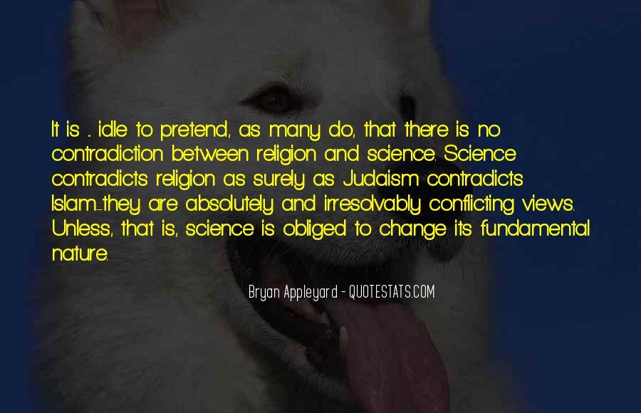 Religion Contradiction Quotes #974291