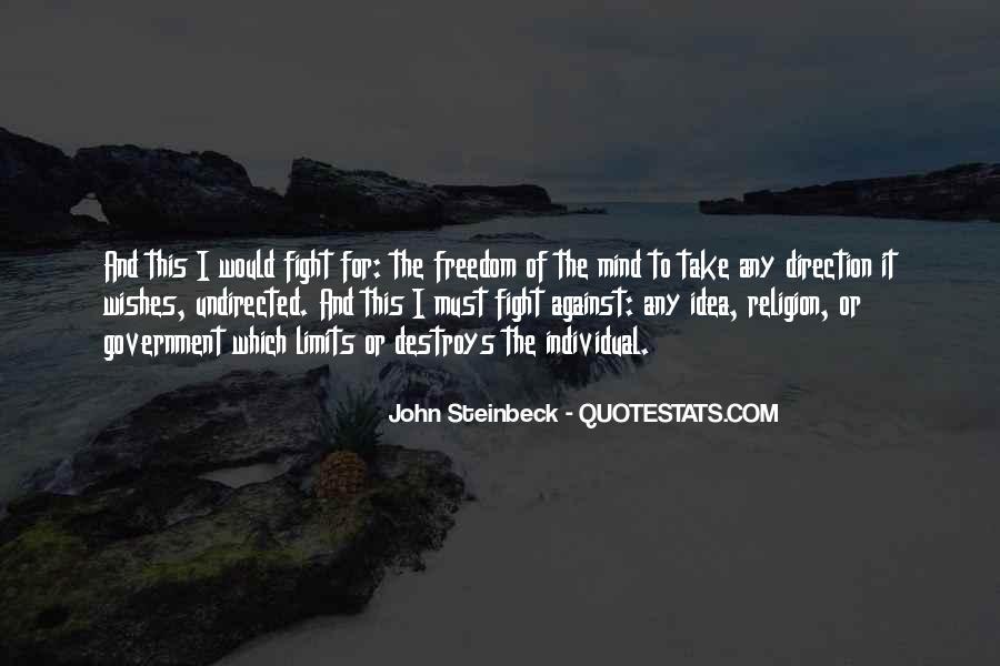 Religion Destroys Quotes #1543983