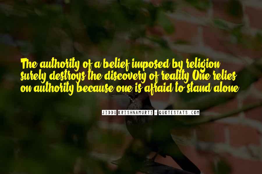 Religion Destroys Quotes #1745664