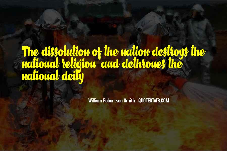 Religion Destroys Quotes #387324