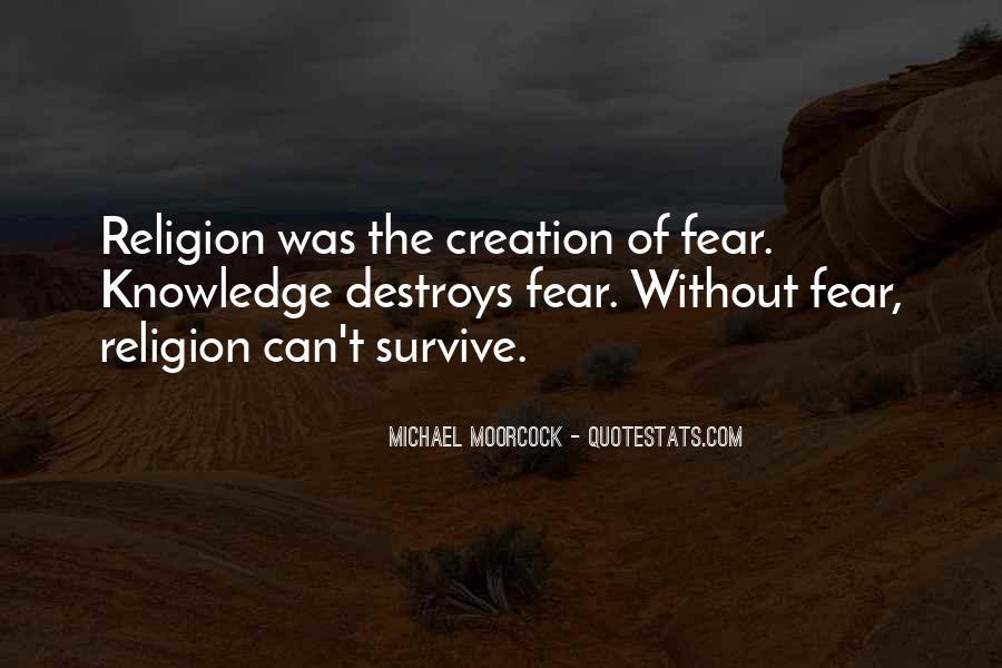 Religion Destroys Quotes #446963